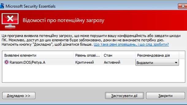 Вирус Petya A