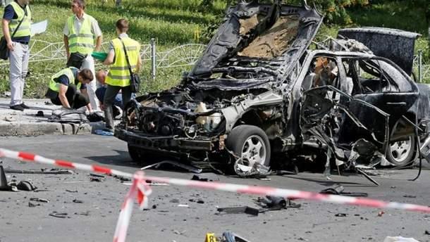 Місце вбивства Максима Шаповала