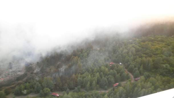Масштабна пожежа у зоні відчуження