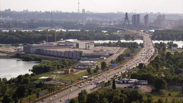 Проспект Шухевича в Киеве