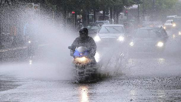 Берлін потерпає від страшенних дощів