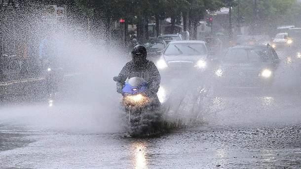 Берлин страдает от страшных дождей