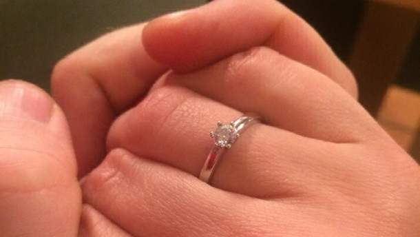 Кольцо жены Антона Мухарского