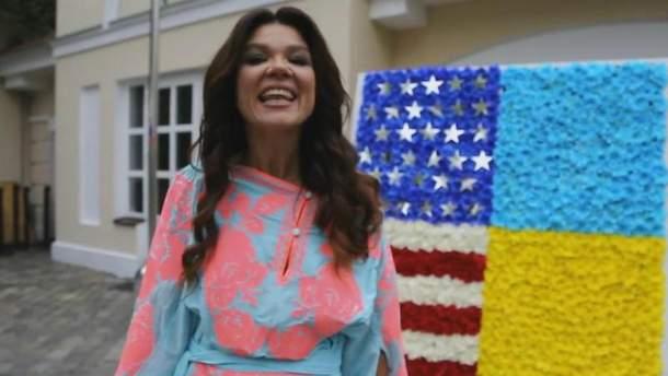 Руслана пришла на празднование Дня независимости США