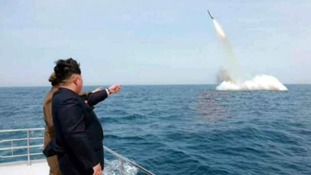 За запуском балістичної ракети спостерігав Кім Чен Ин (ілюстрація)