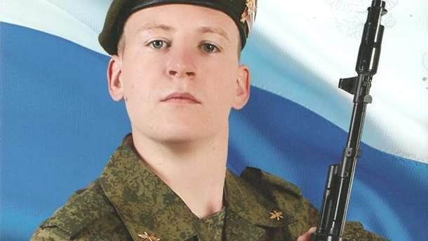 Російський військовий Віктор Агеєв перебуває в СІЗО