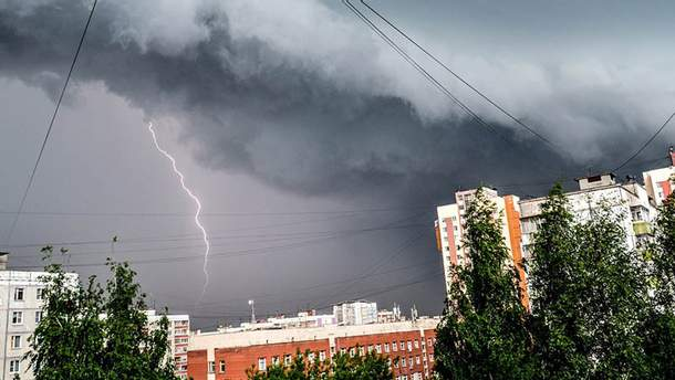 Ухудшение погоды (Иллюстративное фото)