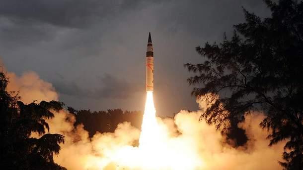 Запуск балістичної ракети (Ілюстративне фото)