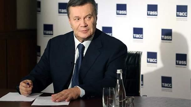 Янукович подав до ГПУ заяву про державний переворот
