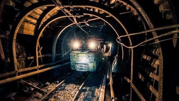 Взрыв на шахте в России (Иллюстрация)