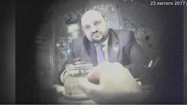 На відео фігурує особа, схожа на Борислава Розенблата