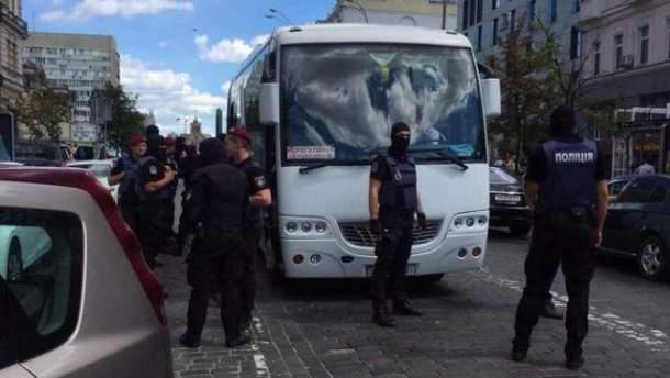 Спецоперація у центрі Києва
