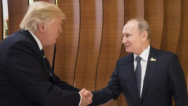 Путін вступив у дискусію з Трампом щодо санкцій