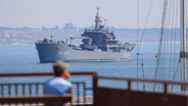 Кораблі НАТО у порту Одеси