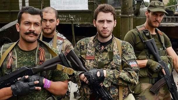 Иностранные боевики на Донбассе
