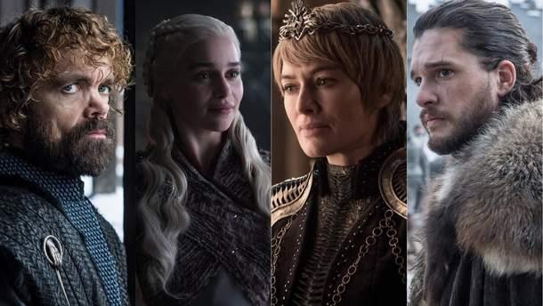"""Ланнистеры, Старки или Баратеоны: кто вы из """"Игры престолов"""""""