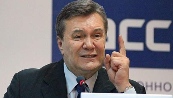 Янукович пожалуется в ЕСПЧ на Украину