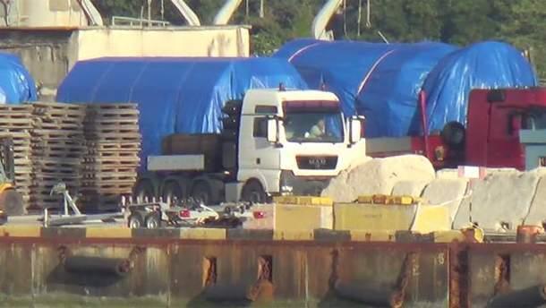 В Крыму появились новые газовые турбины, вероятно производства Siemens