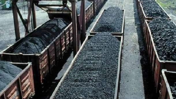 Росія майже не купує вугілля в терористів