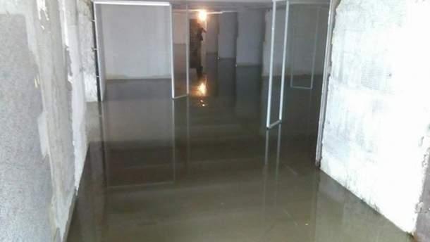 Затоплений перехід в Одесі