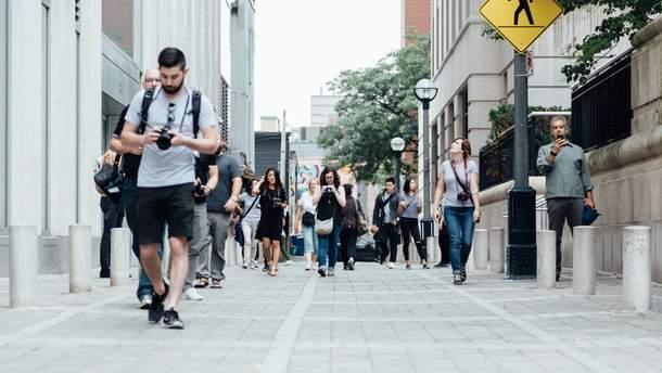 Найбільш рухливі люди живуть в Китаї