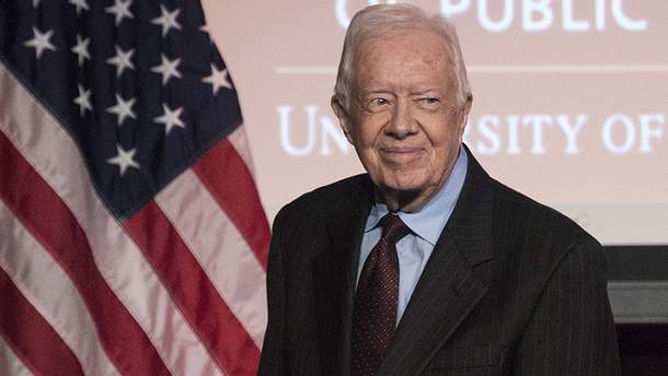 39-ый президент США Джимми Картер