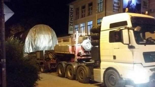 Немецкие турбины Siemens в оккупированном Крыму