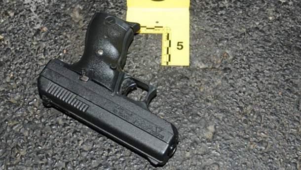 Травматичний пістолет, з якого застрелився пенсіонер