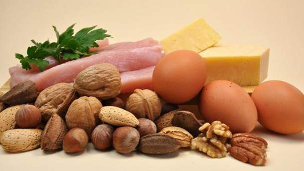 Продукти багаті на білок