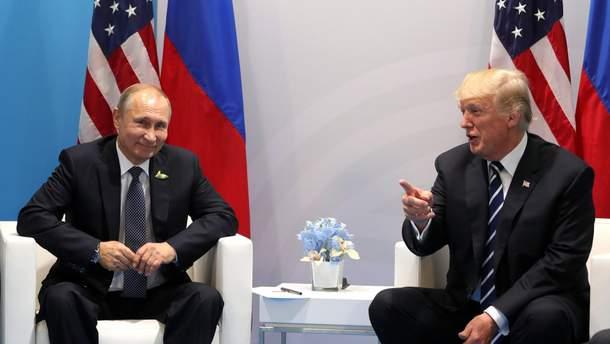 Трамп рассказал, о чем беседовал с Путиным во время второй встречи