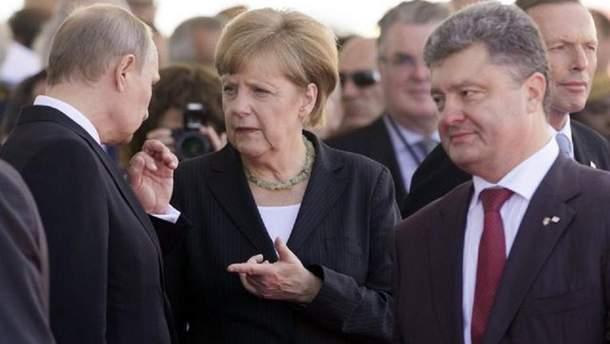 Путін тисне на Захід, щоб примусити Україну виконати  умови Кремля