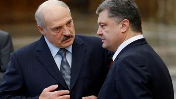 Чому Лукашенко зачастив у гості до Порошенка?