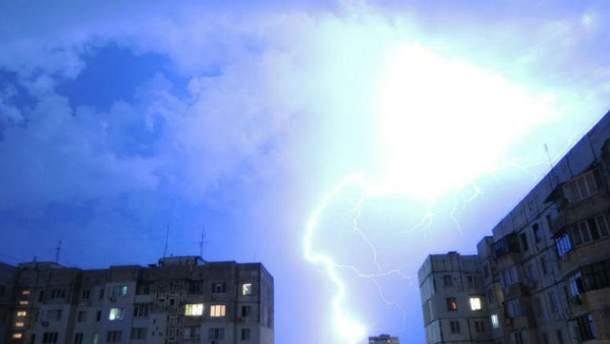 22 липня в Україні штормове попередження