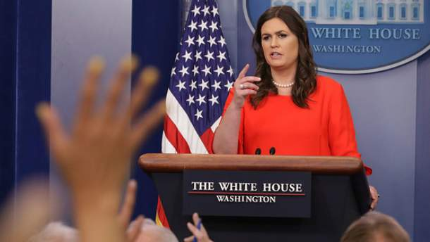 Сара Сандерс стала новою речницею Білого дому