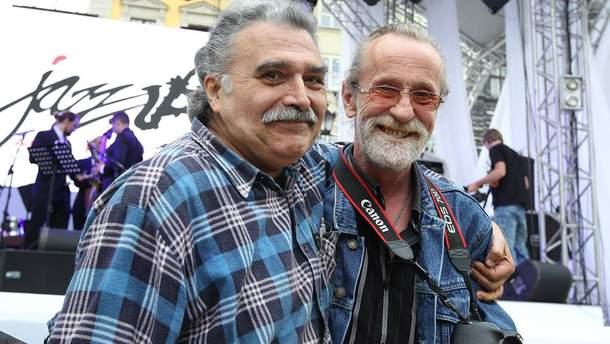 Умер Юрий Шарифов (слева)
