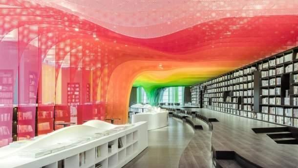 В Китаї створили бібліотеку для любителів Instagram: яскраві фото