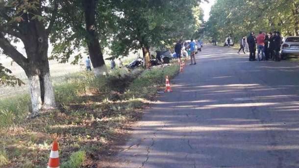 В ночной аварии под Киевом погиб футболист