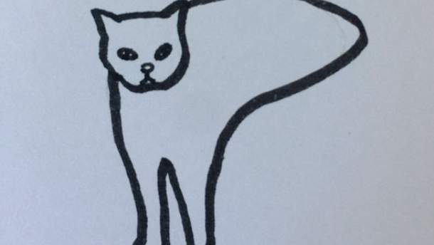 Художник створює кумедні малюнки котів, які здаються надто реалістичними