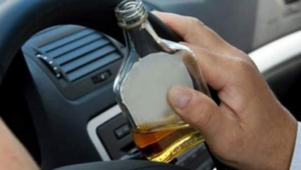Покарання за нетверезе водіння можуть посилити