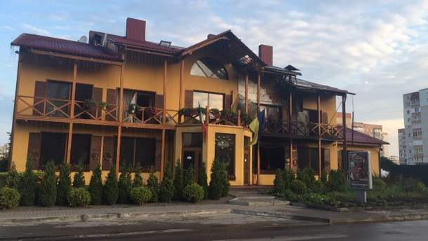 З'явились деталі пожежі в готелі у Луцьку