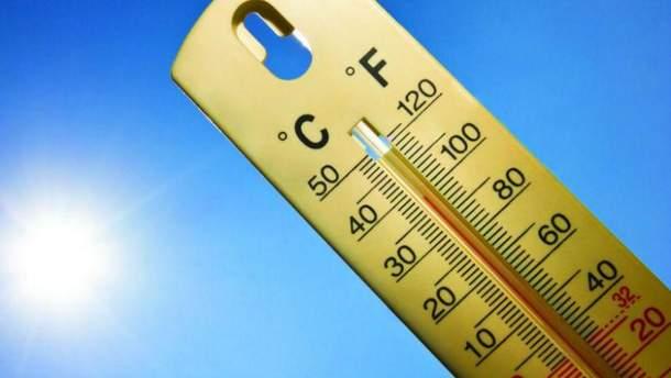 Температурний рекорд у Києві