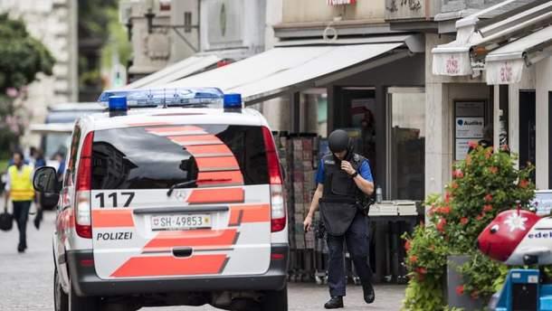 Нападение в Швейцарии