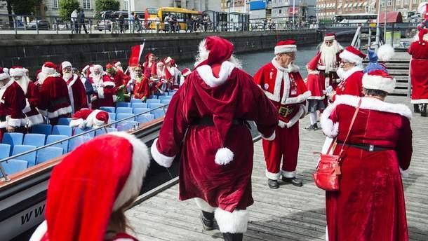 Санта-Клауси в Данії
