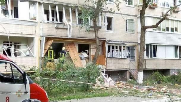Взрыв в Киеве 26 июля 2017 прогремел в жилом доме