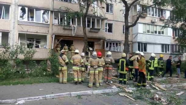 Взрыв в Киеве: погибла женщина