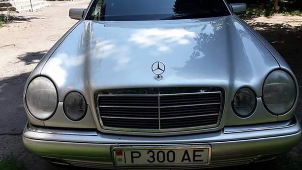 Mercedes с приднестровскими номерами