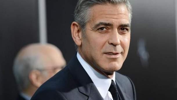 Джордж Клуні найкрасивіший чоловік серед зірок
