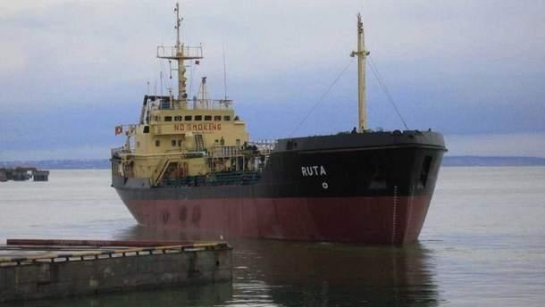 """Екіпаж танкера """"Рута"""" утримується під вартою"""