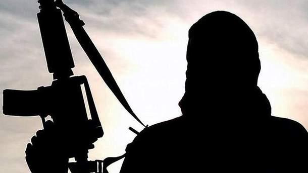 """Террорист """"Исламского государства"""" (Иллюстрация)"""