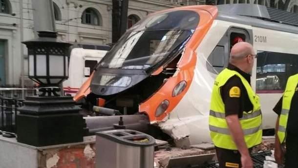 Аварія в Барселоні